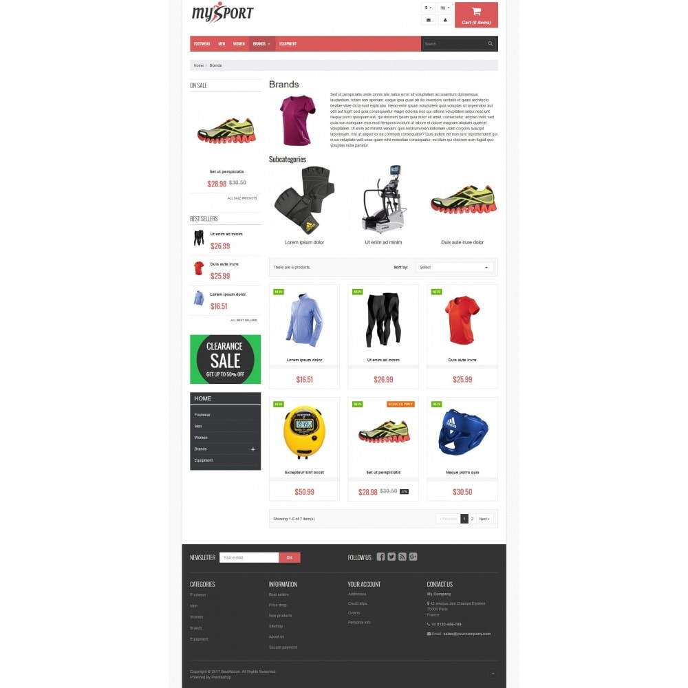 theme - Спорт и Путешествия - VP_MySport Store - 3