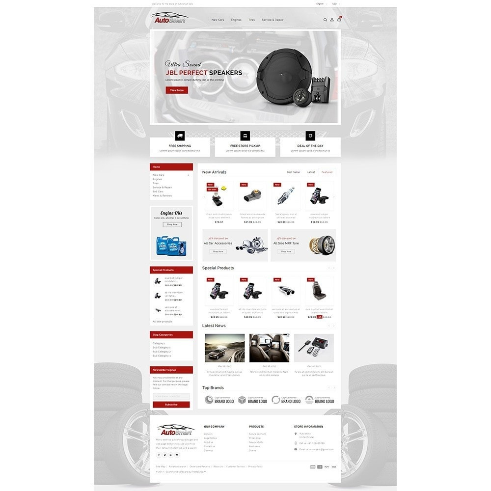 theme - Coches y Motos - Auto smart store - 2