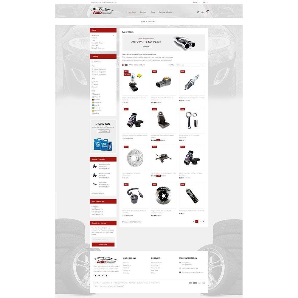 theme - Carros & Motos - Auto smart store - 3