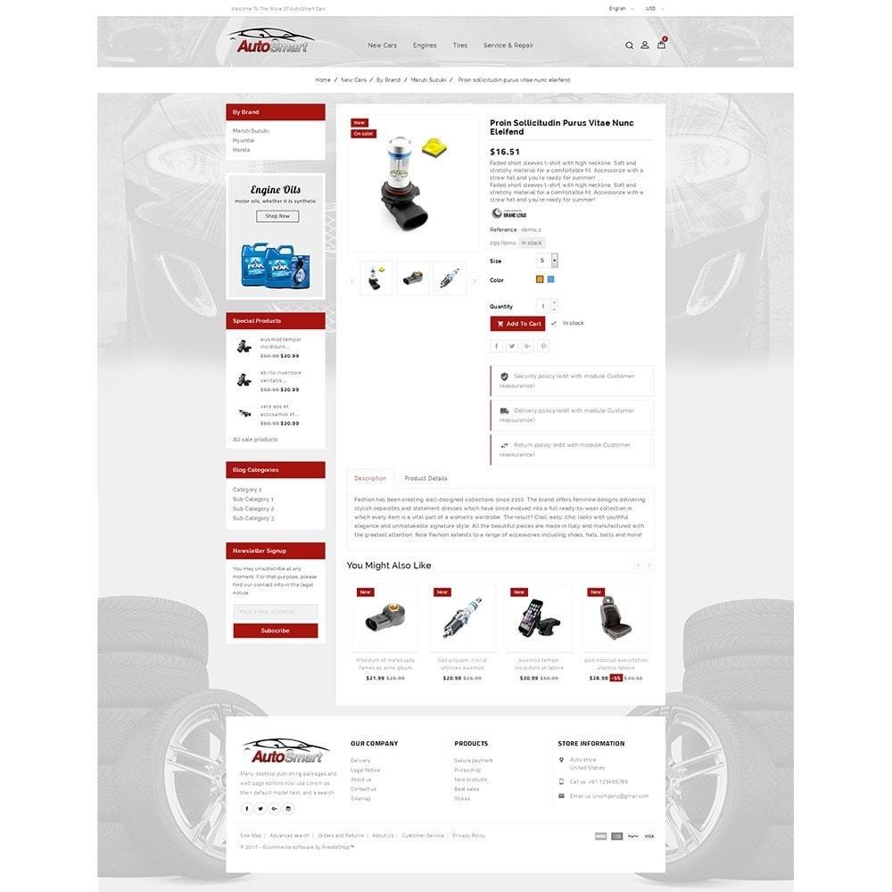 theme - Carros & Motos - Auto smart store - 5