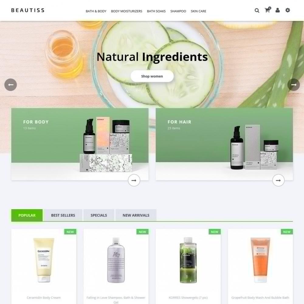 theme - Santé & Beauté - Beautiss Cosmetics - 2