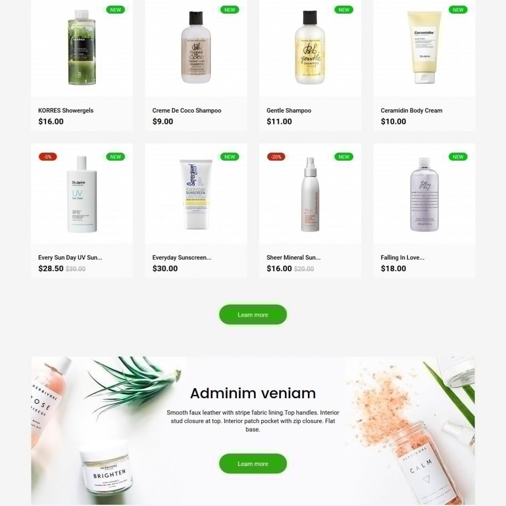 theme - Health & Beauty - Andara Cosmetics - 3