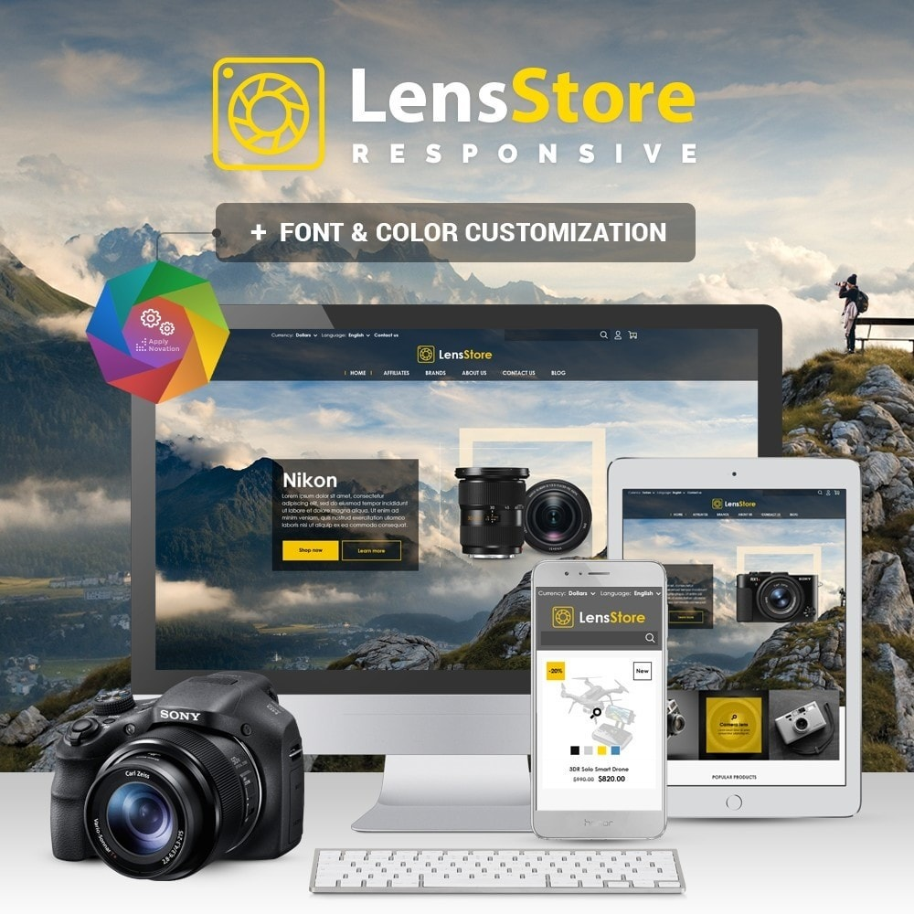 theme - Elettronica & High Tech - LensStore - 1