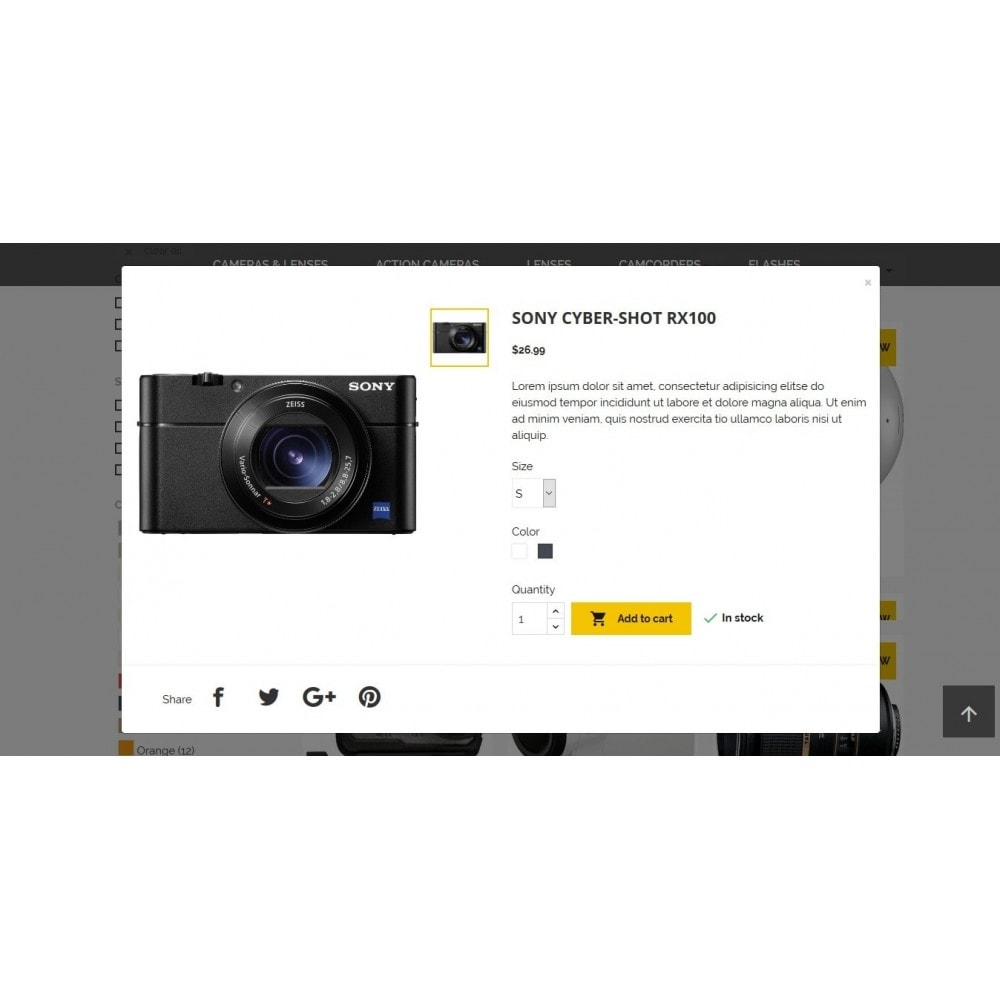 theme - Elettronica & High Tech - LensStore - 6