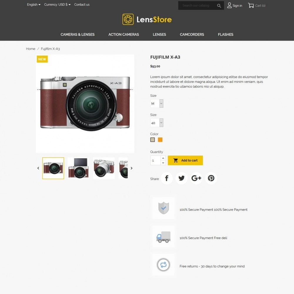 theme - Elettronica & High Tech - LensStore - 7