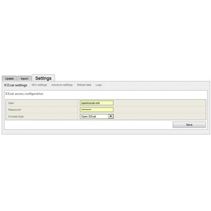 module - Fast & Mass Update - Icecat Integration Solution (WICECAT PRO) - 6