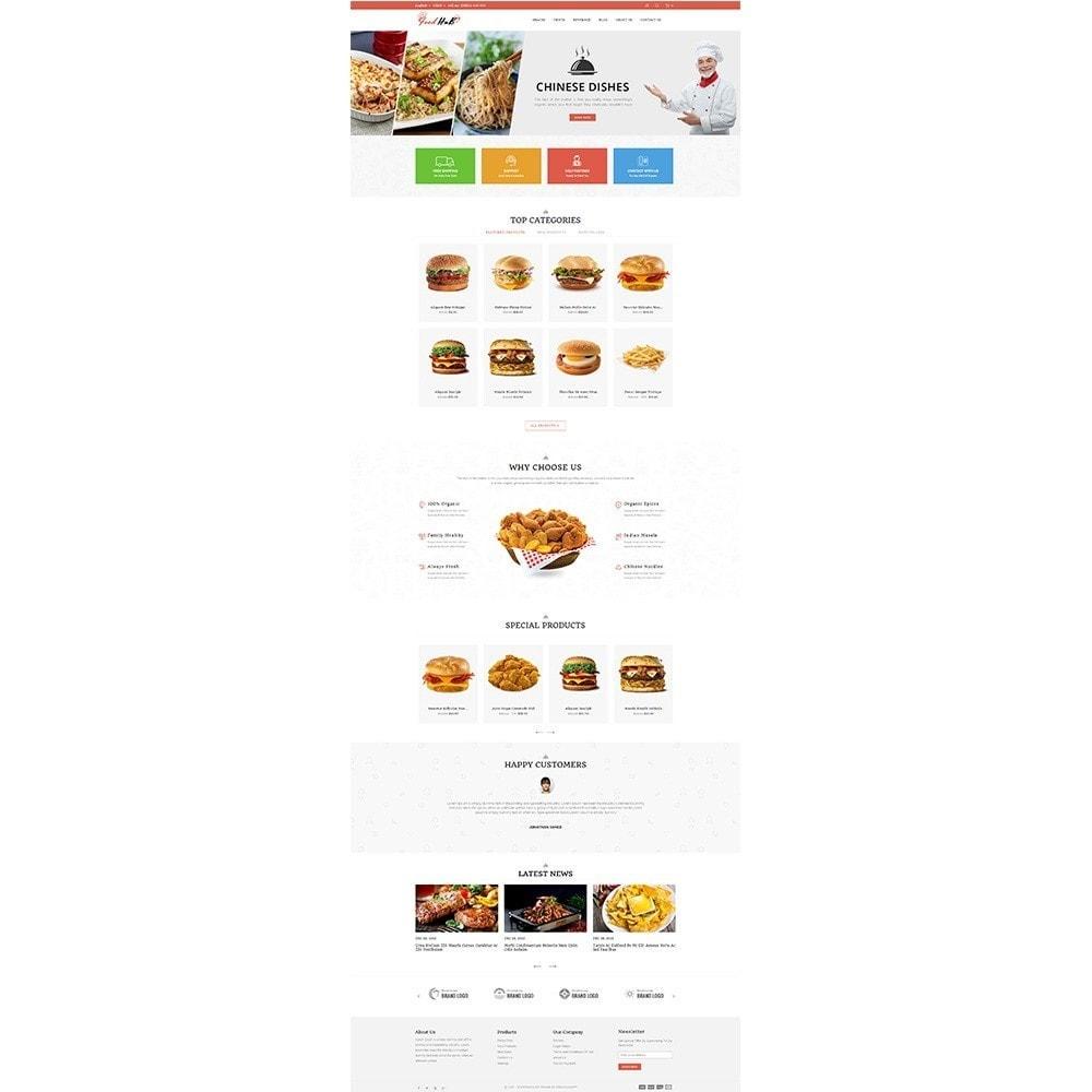 theme - Продовольствие и рестораны - Food hub - 2