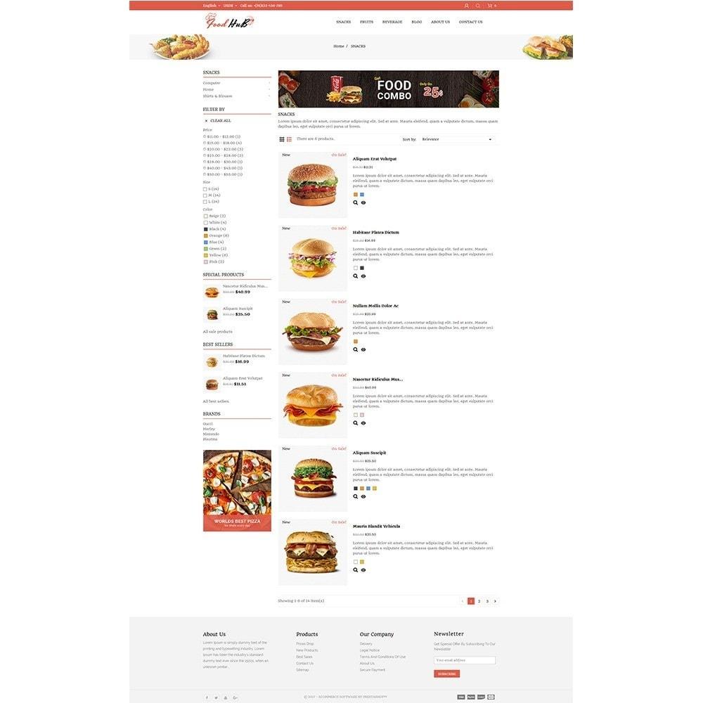 theme - Продовольствие и рестораны - Food hub - 4
