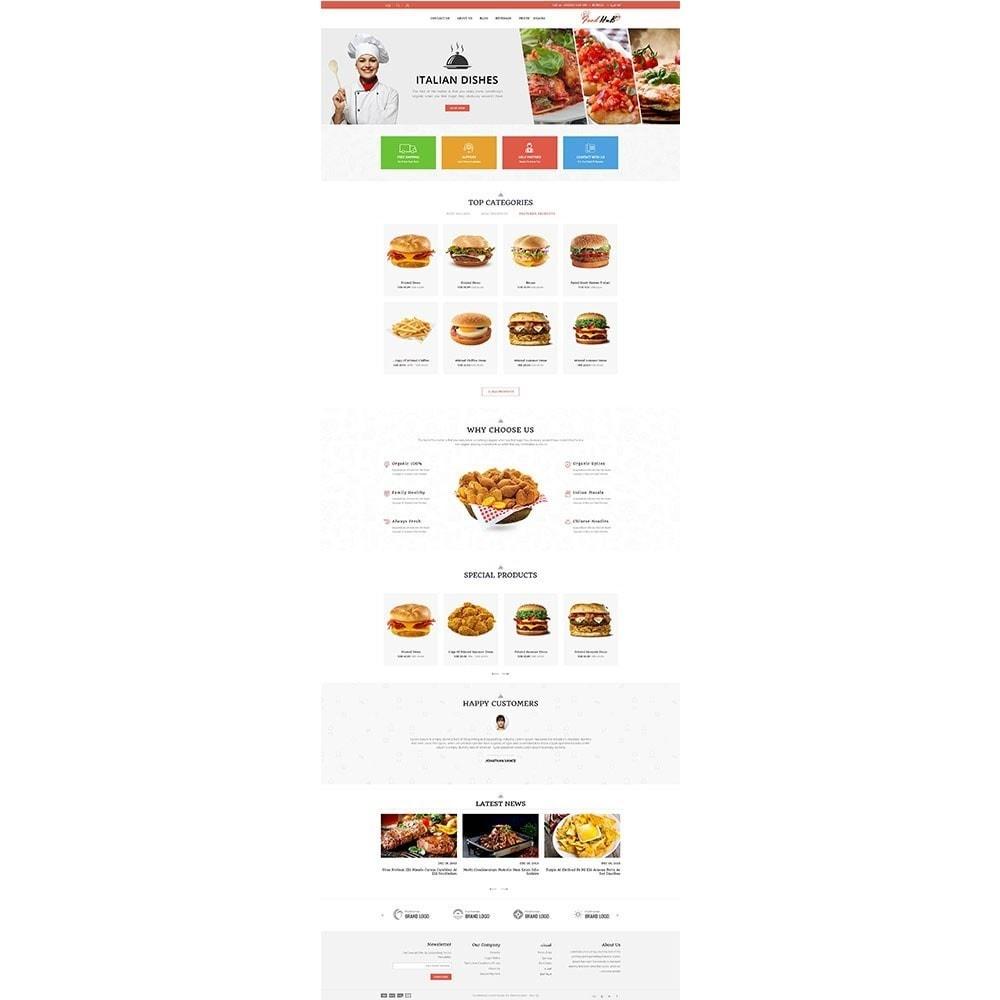 theme - Продовольствие и рестораны - Food hub - 6