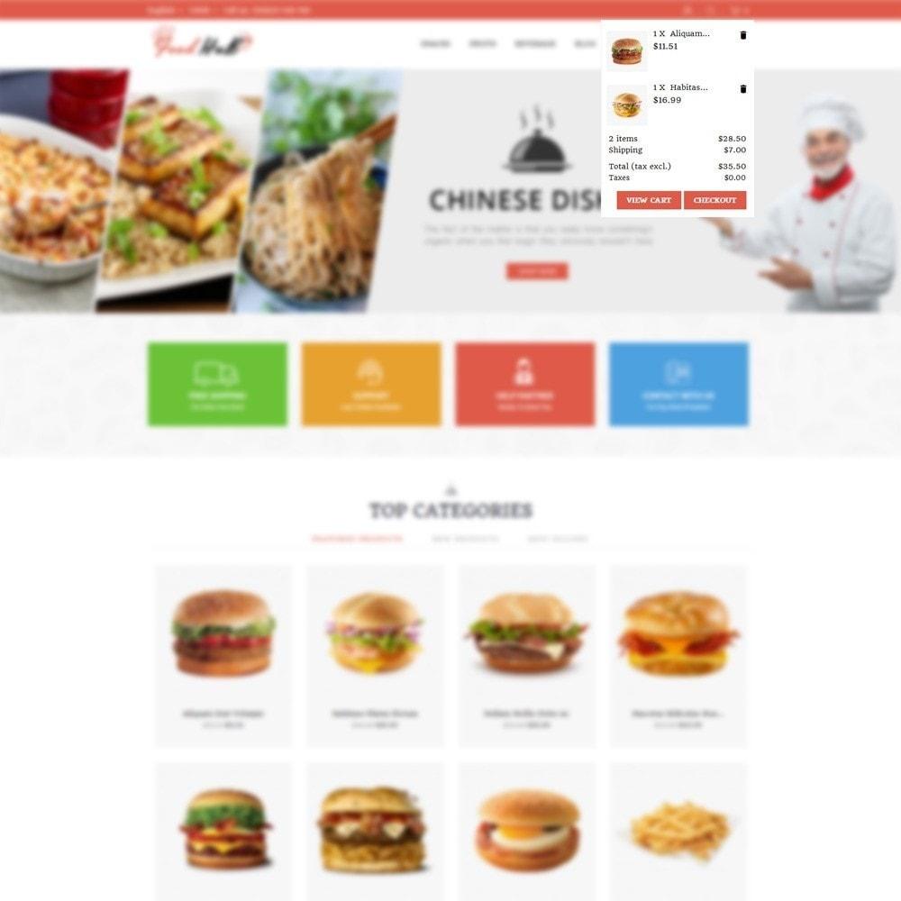 theme - Продовольствие и рестораны - Food hub - 7