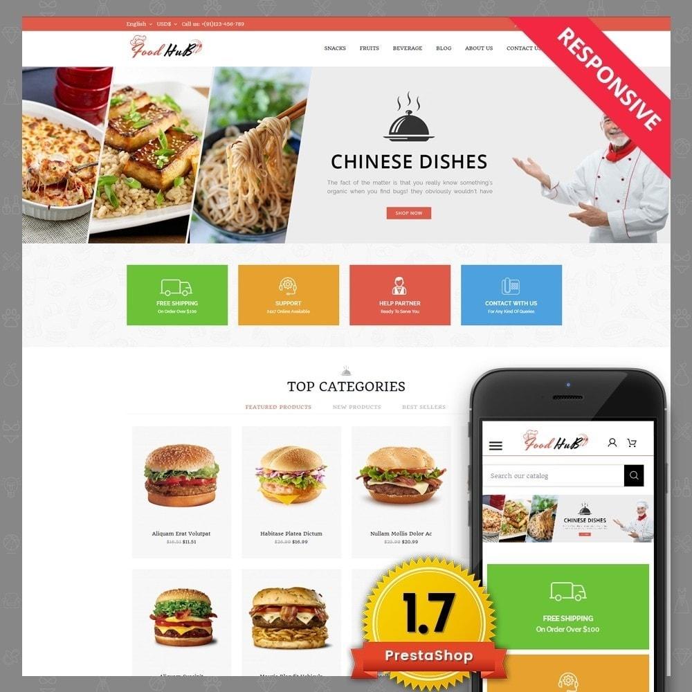 theme - Продовольствие и рестораны - Food hub - 1
