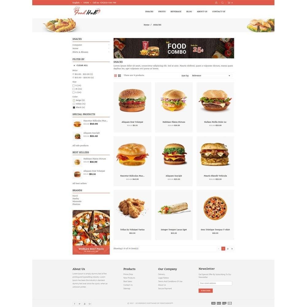 theme - Продовольствие и рестораны - Food hub - 3