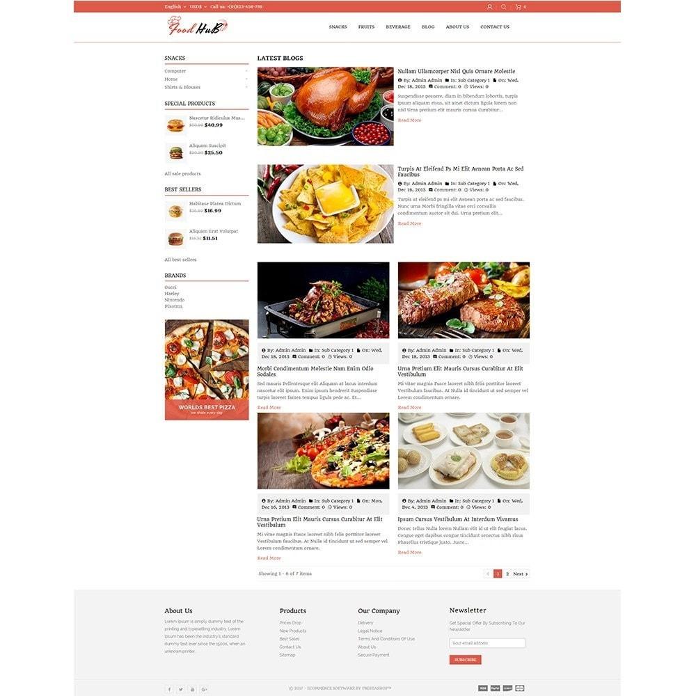 theme - Продовольствие и рестораны - Food hub - 8