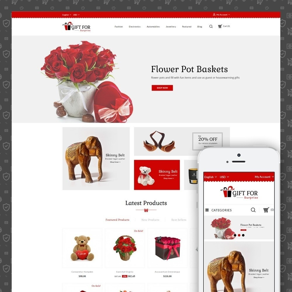 theme - Gifts, Flowers & Celebrations - Surprise Gift Store - 1