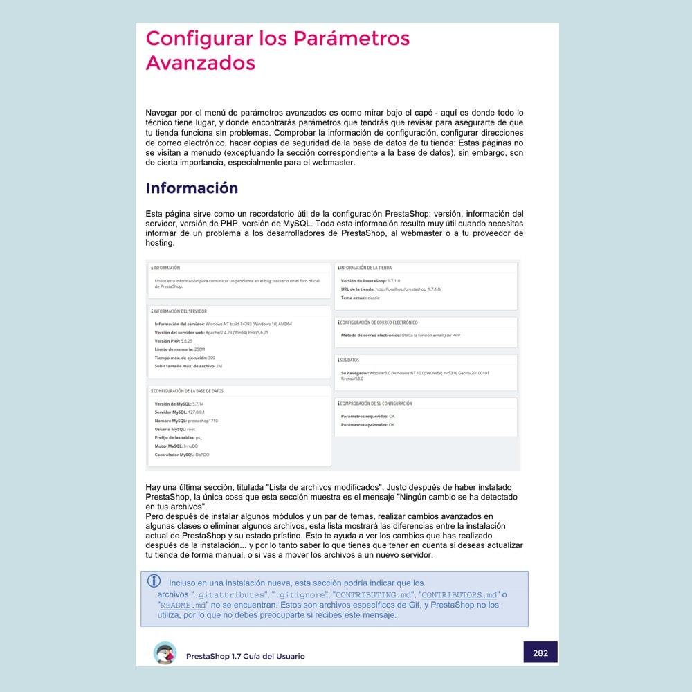 other - Benutzerhandbuchs - Prestashop 1.7 User Guide (Spanish version) - 4