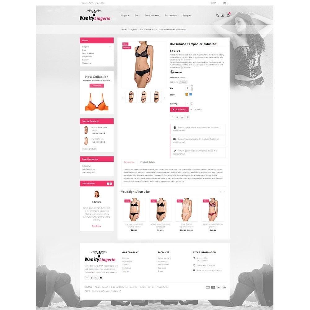 theme - Lingerie & Erwachsene - Wanity Lingerie Store - 5