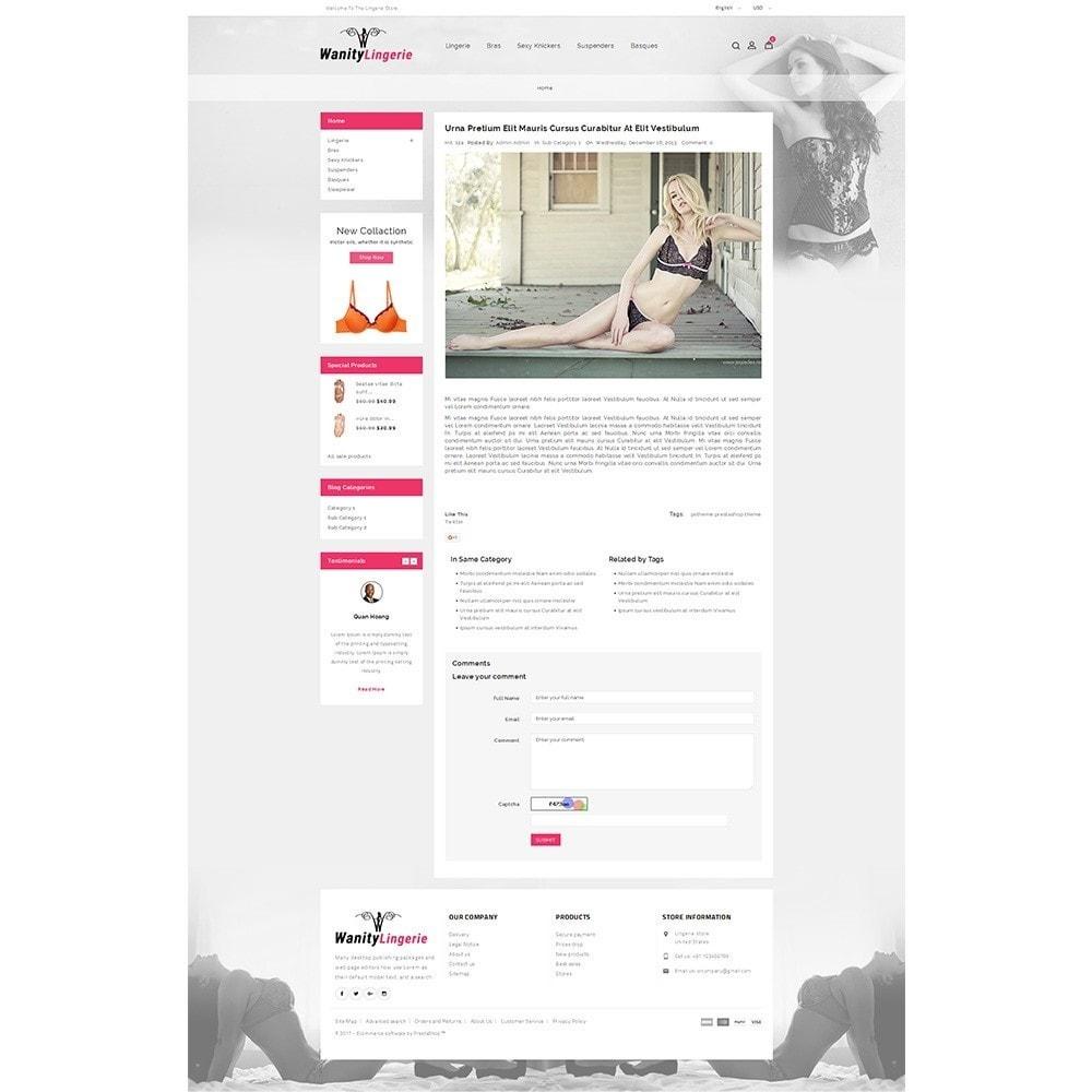 theme - Lingerie & Erwachsene - Wanity Lingerie Store - 8