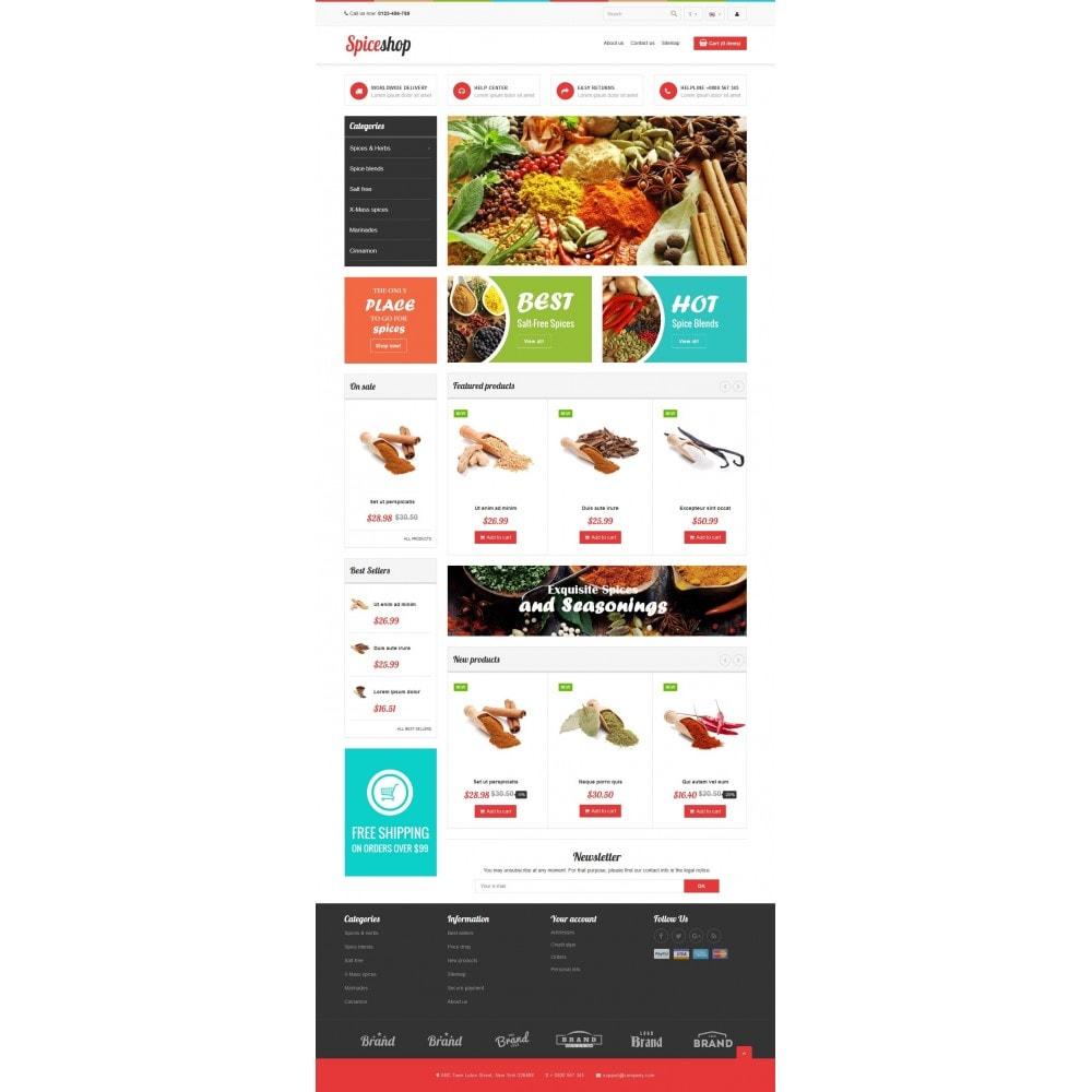 theme - Продовольствие и рестораны - VP_Spices Store - 2