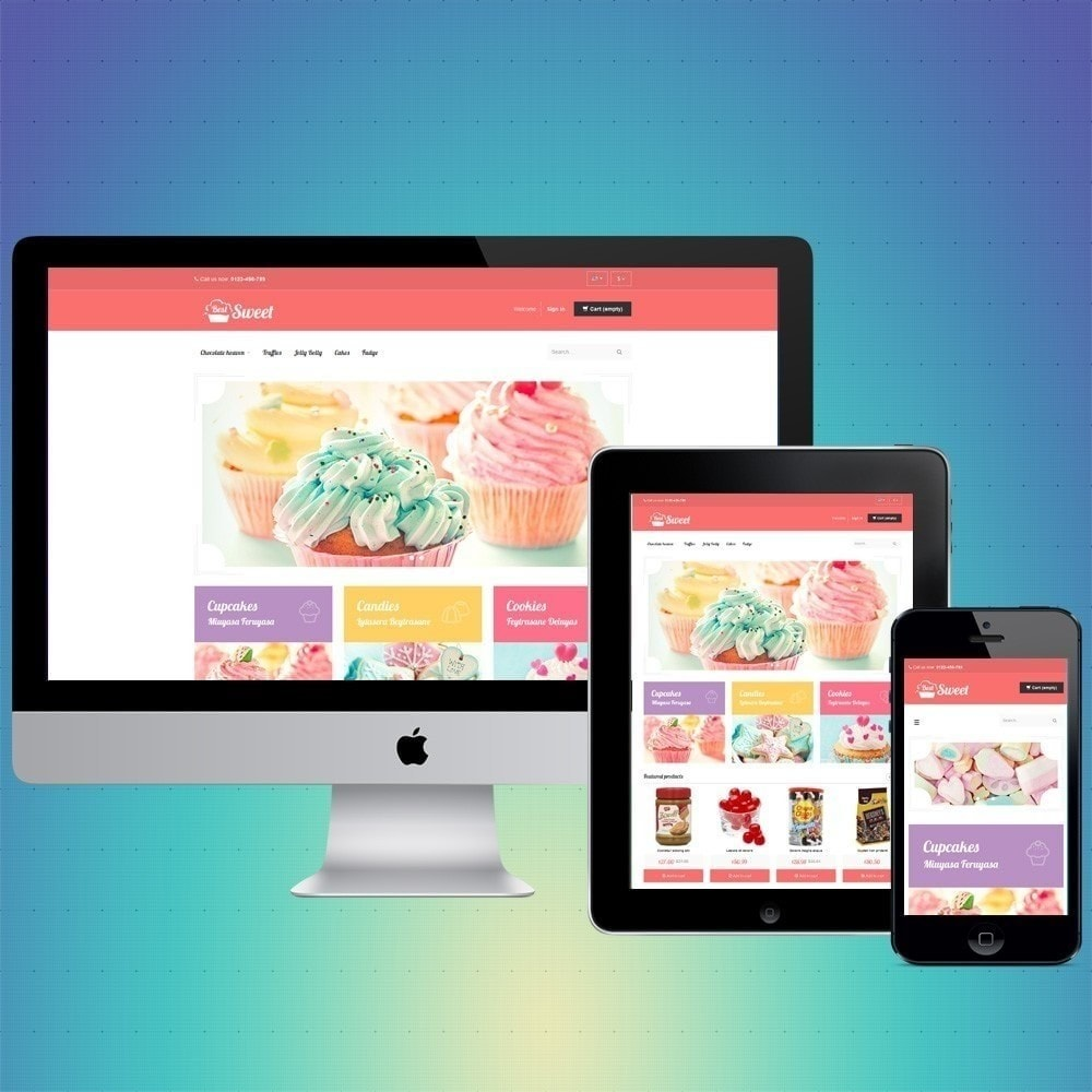 theme - Food & Restaurant - VP_Sweet Store - 1