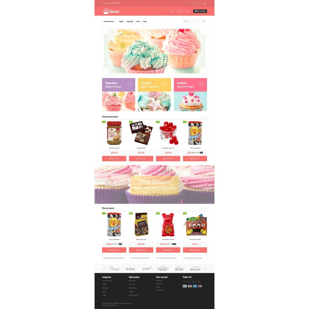 theme - Food & Restaurant - VP_Sweet Store - 2