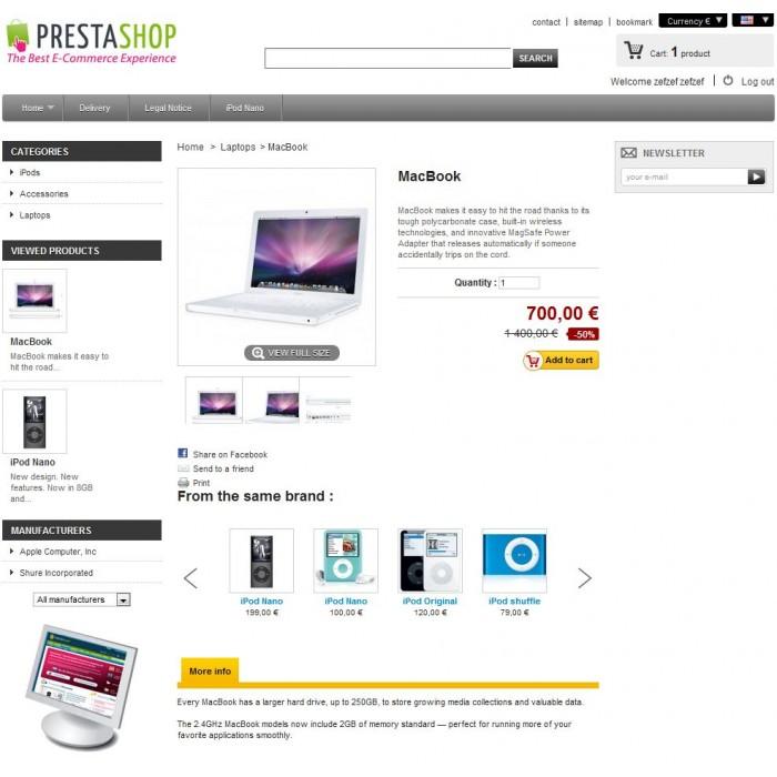 module - Sliders & Galerias - Slider - Products by brand - 2