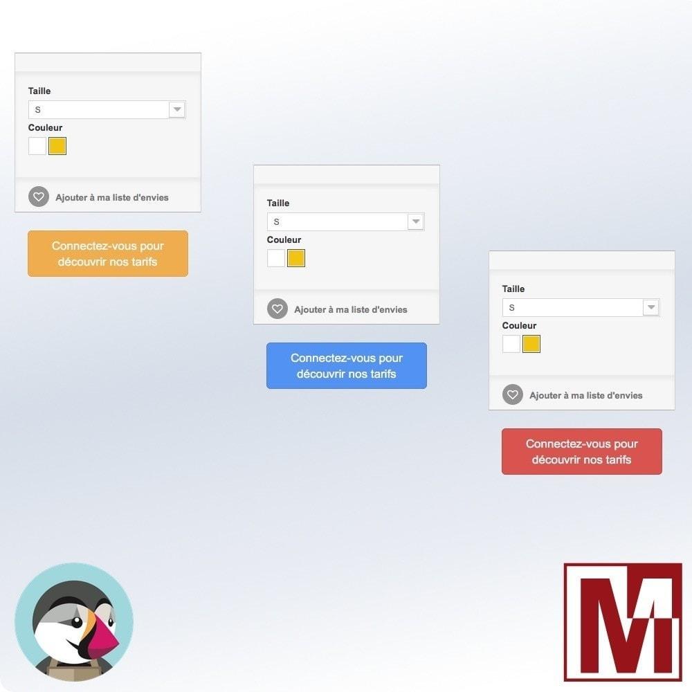 module - Gestion des Prix - Mode catalogue pour les non connectés - 2