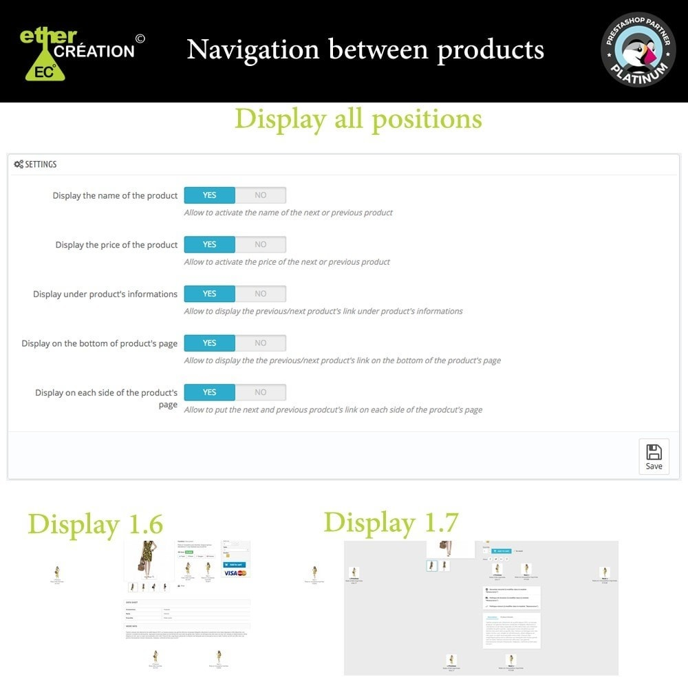 module - Navigation Tools - Next/Previous product on the product page - 3