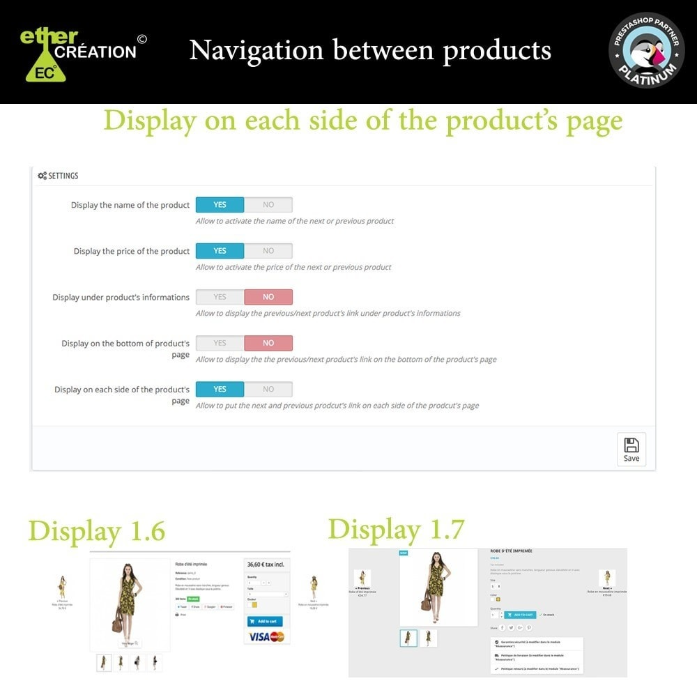 module - Navigation Tools - Next/Previous product on the product page - 4