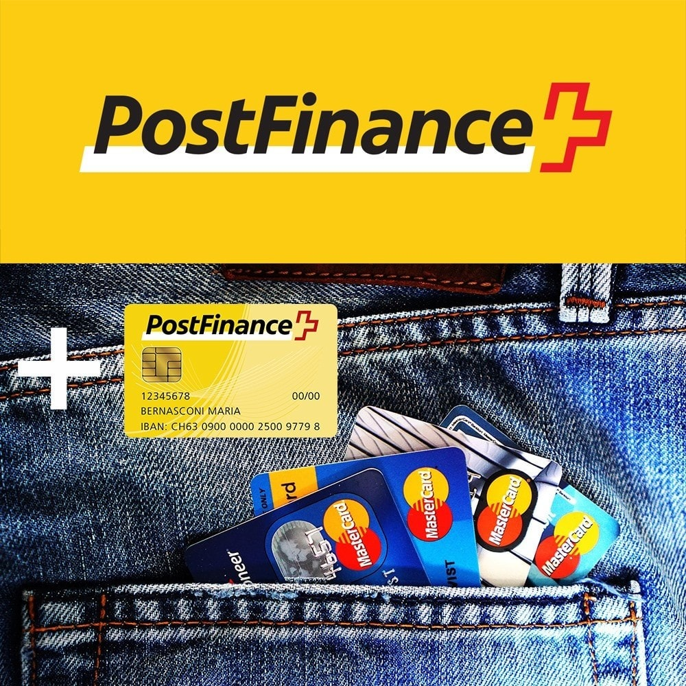 module - Zahlung per Kreditkarte oder Wallet - PostFinance - 1