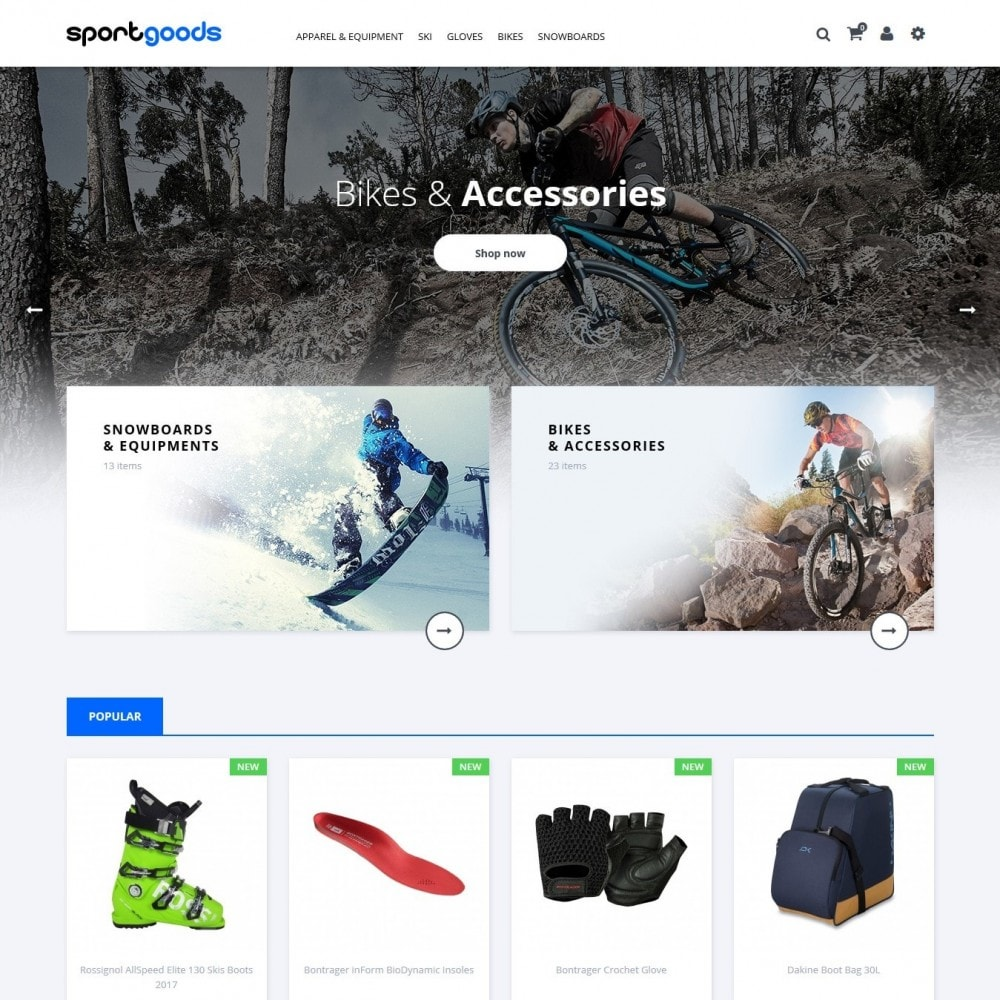 theme - Sport, Attività & Viaggi - Sportgoods - 2