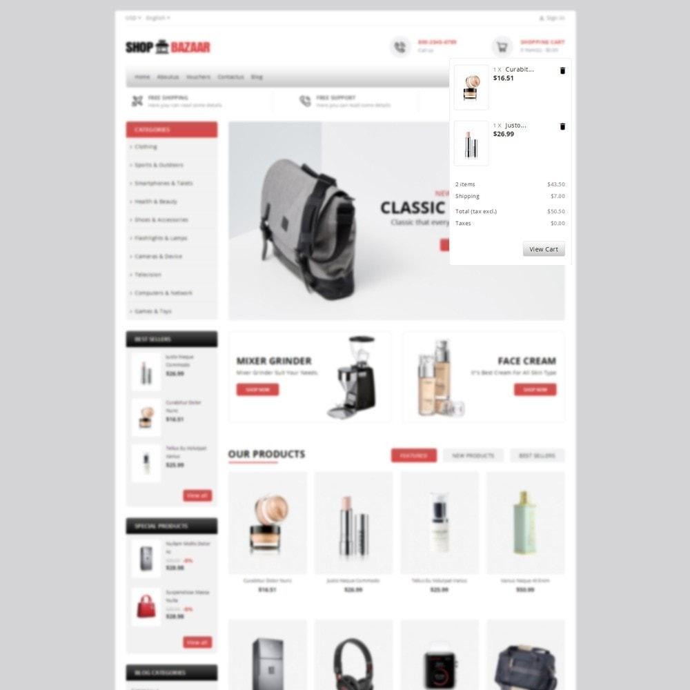 theme - Electronique & High Tech - ShopBazar Mega Store - 7