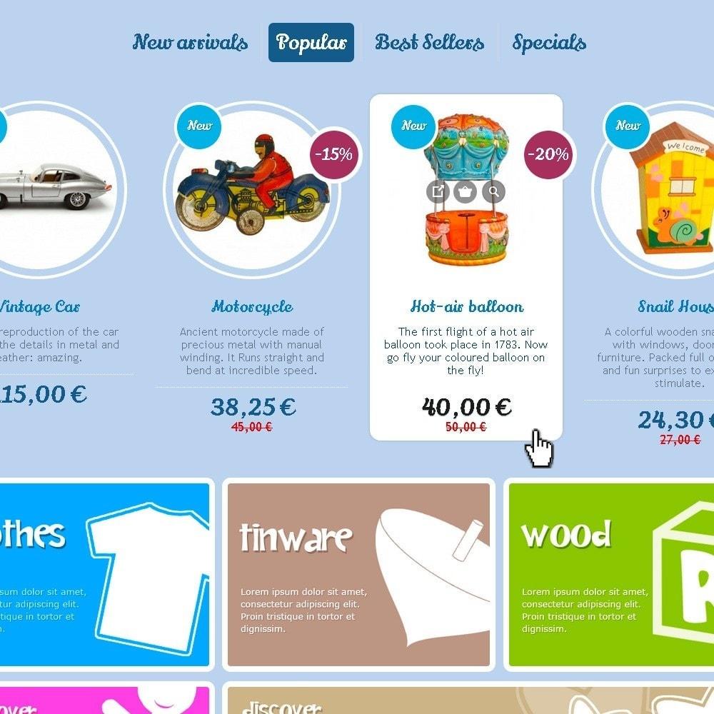 theme - Crianças & Brinquedos - Happy Kids - 2