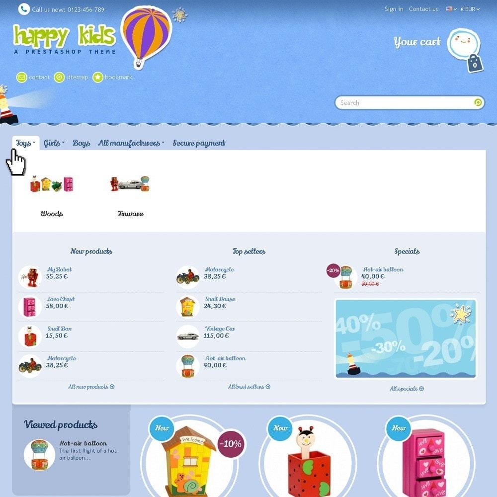 theme - Crianças & Brinquedos - Happy Kids - 3