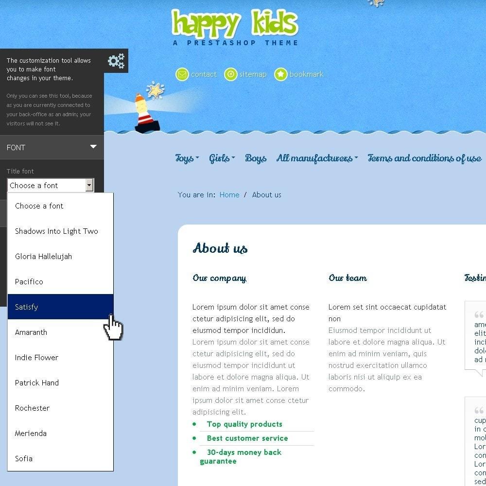 theme - Zabawki & Artykuły dziecięce - Happy Kids - 11
