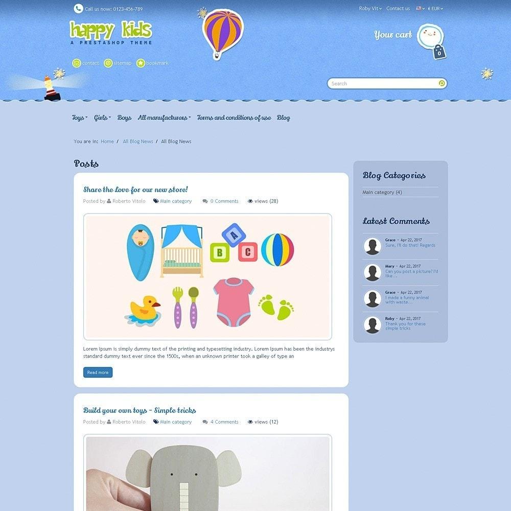 theme - Zabawki & Artykuły dziecięce - Happy Kids - 12