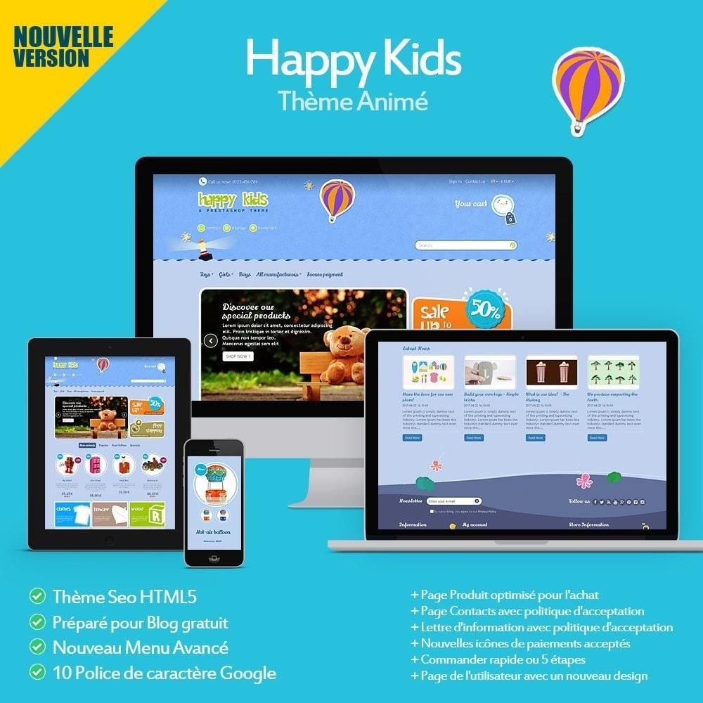 theme - Enfants & Jouets - Happy Kids - 2