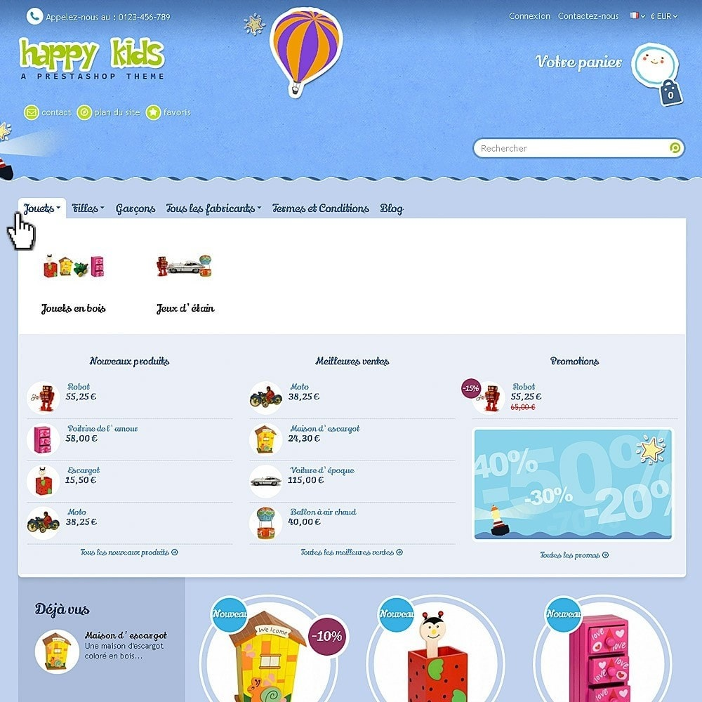 theme - Enfants & Jouets - Happy Kids - 4