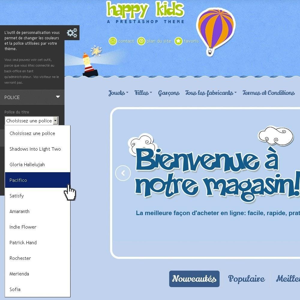 theme - Enfants & Jouets - Happy Kids - 12