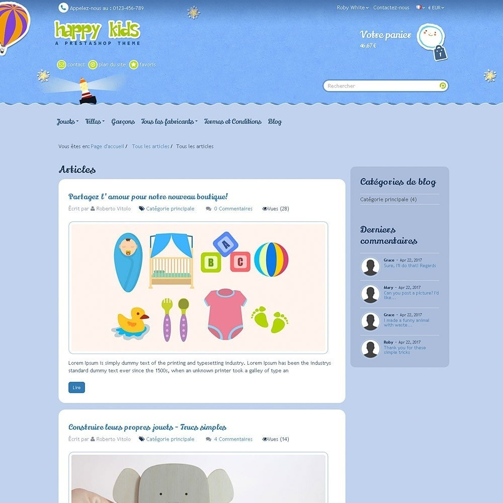 theme - Enfants & Jouets - Happy Kids - 13