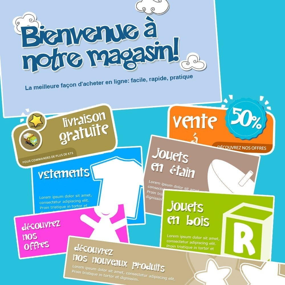theme - Enfants & Jouets - Happy Kids - 16