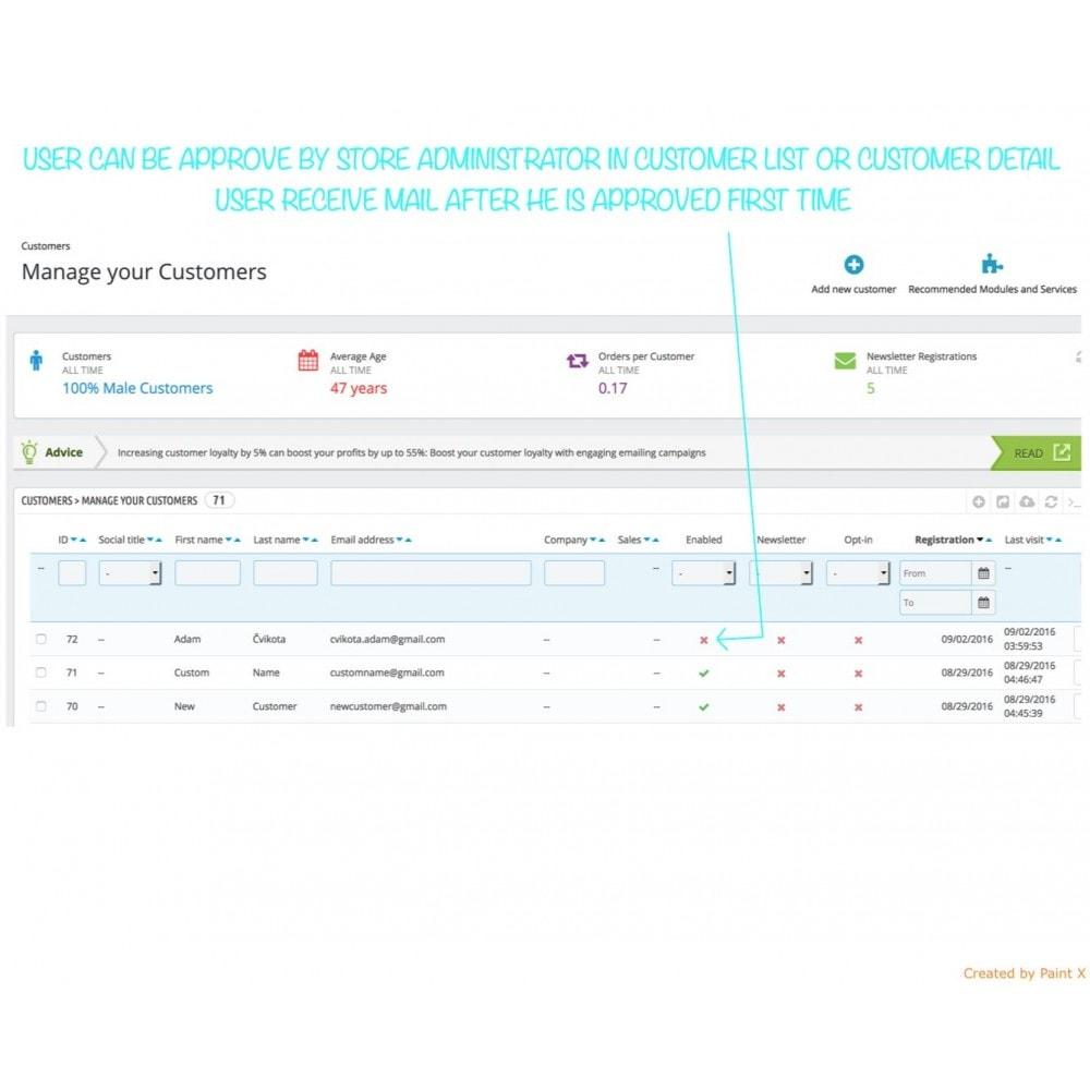 module - B2B - Validation B2B du membre enregistré et cacher des prix - 4