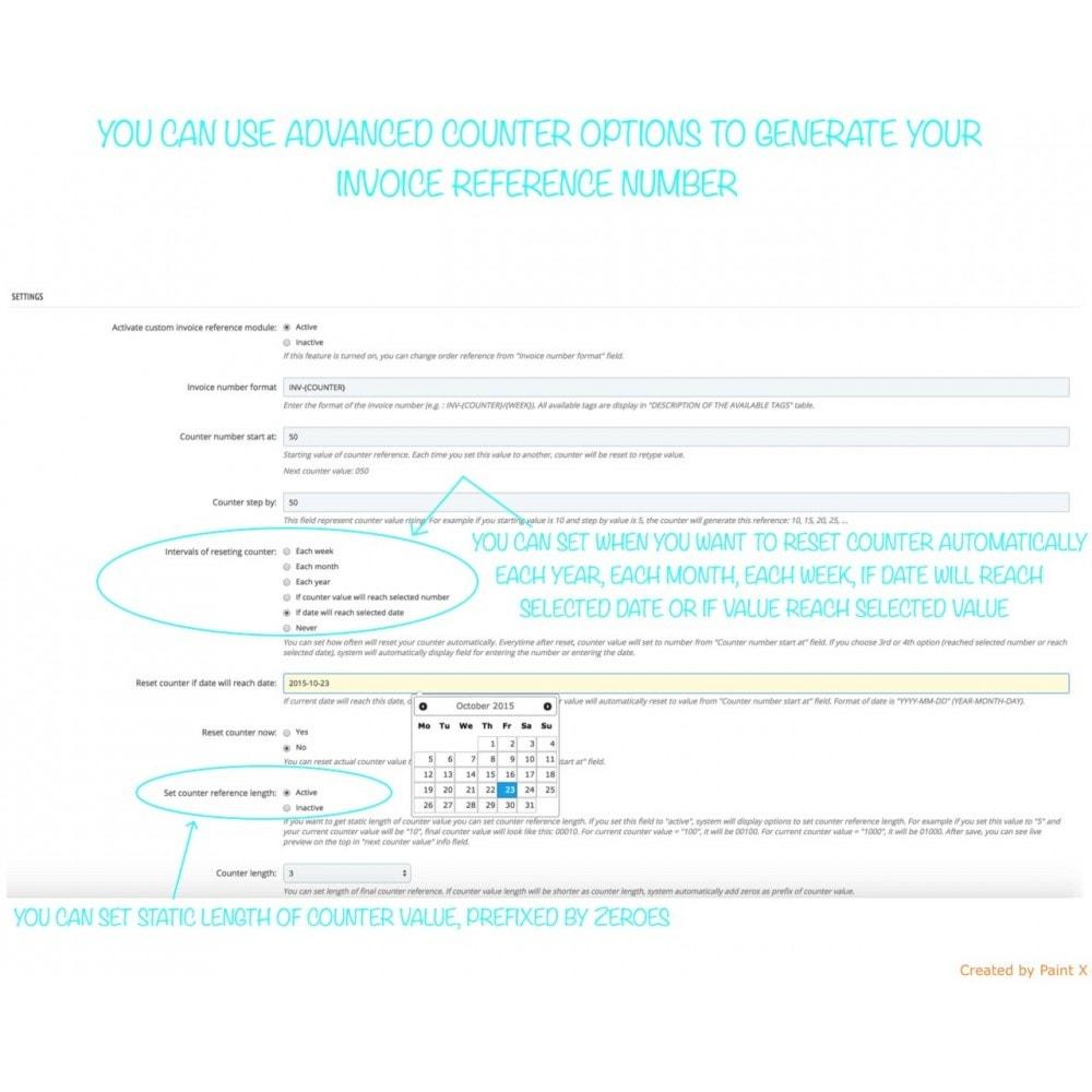 module - Comptabilité & Facturation - Numéros des factures, leur modification et suppression - 6