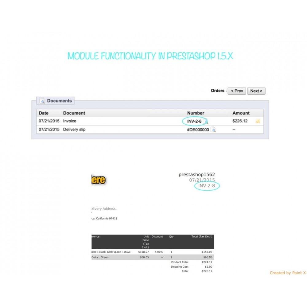 module - Comptabilité & Facturation - Numéros des factures, leur modification et suppression - 7