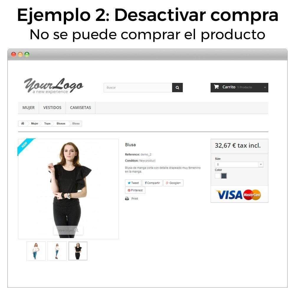 module - Gestión de Pedidos - Ocultar precio y desactivar la compra de productos - 10