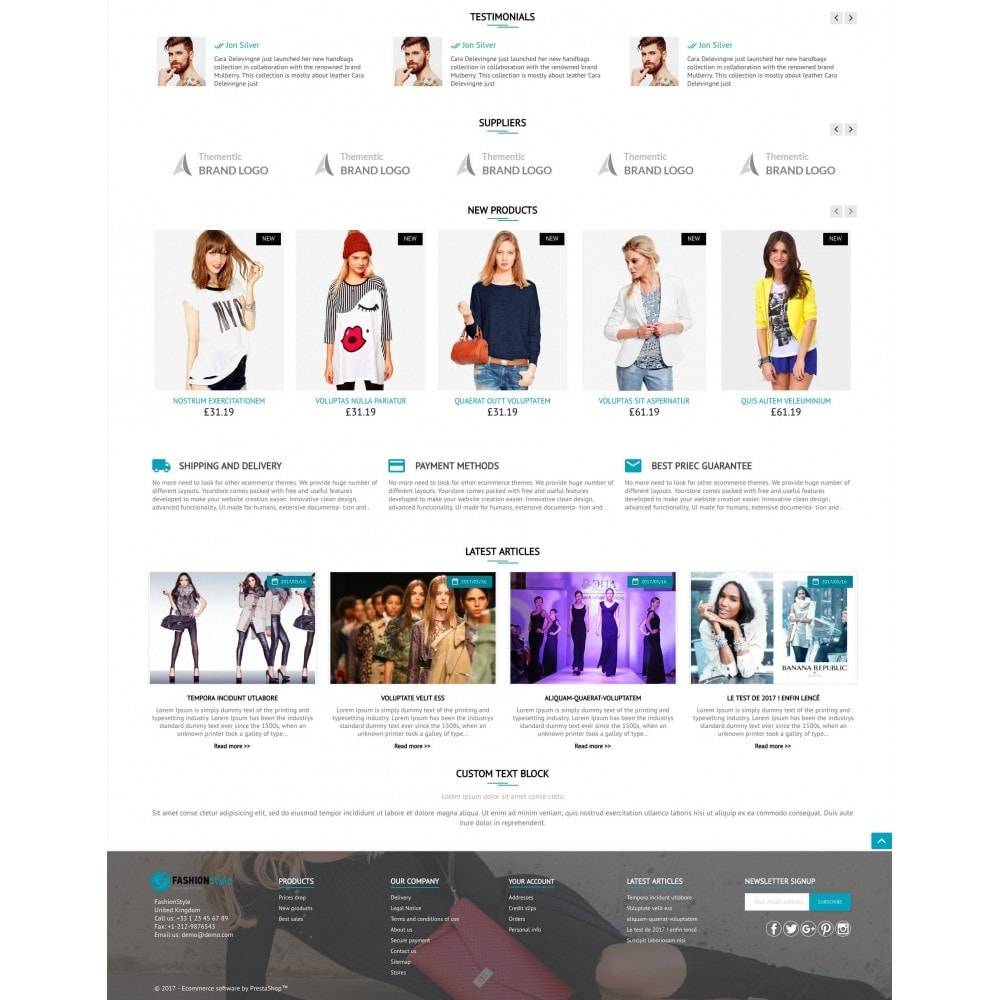 theme - Mode & Chaussures - FashionStyle - 3