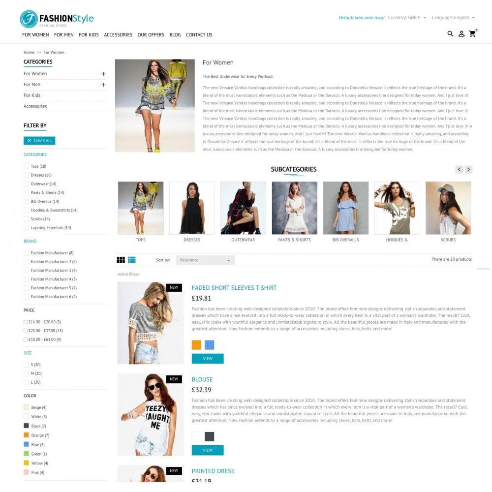 theme - Mode & Schoenen - FashionStyle - 5