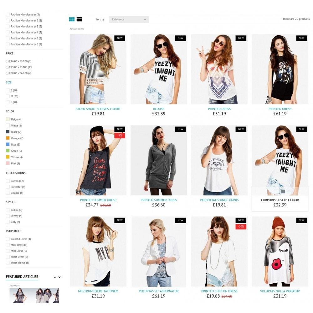 theme - Moda & Calçados - FashionStyle - 6