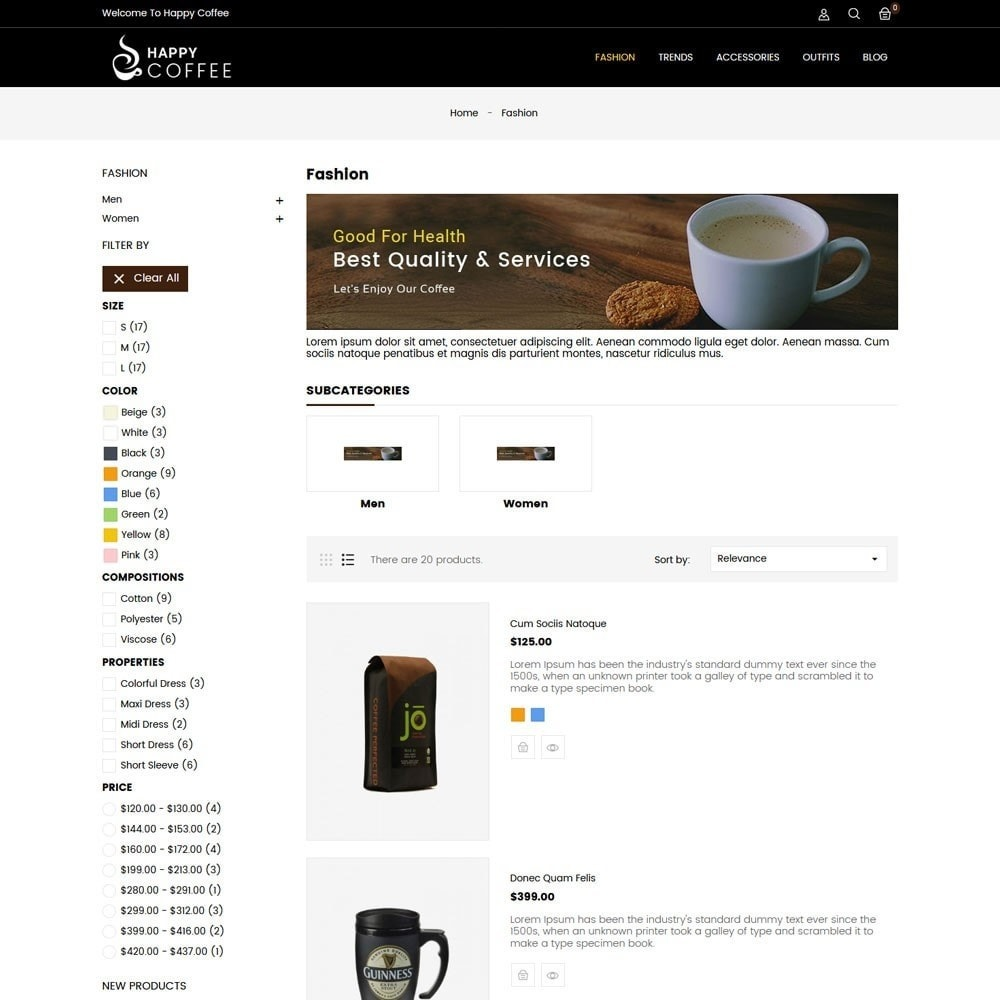 theme - Drink & Wine - Coffee Store - 4