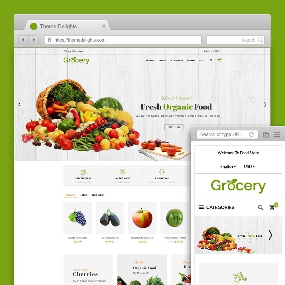 theme - Eten & Restaurant - Grocery Store - 1