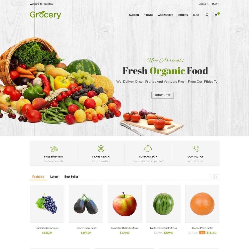 theme - Eten & Restaurant - Grocery Store - 2